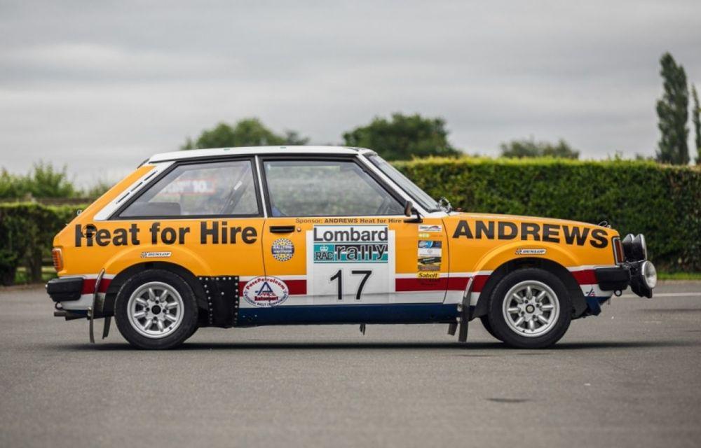 Pentru iubitorii de motorsport: un MG Metro 6R4 și un Talbot Lotus Sunbeam sunt scoase la licitație - Poza 3