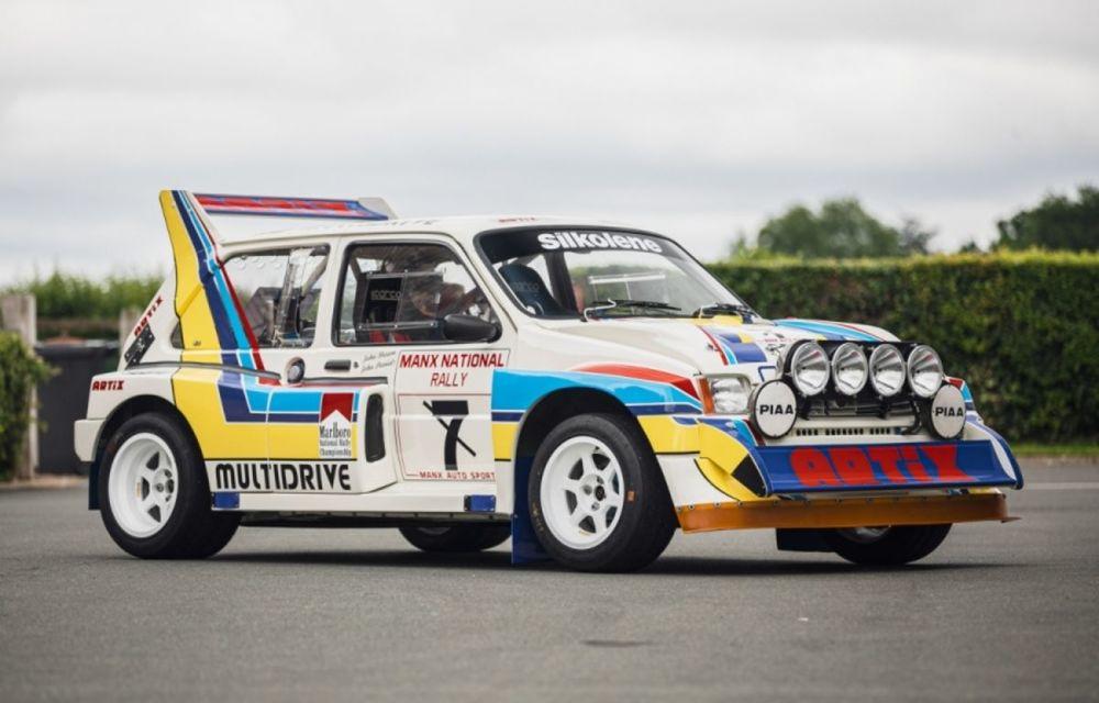 Pentru iubitorii de motorsport: un MG Metro 6R4 și un Talbot Lotus Sunbeam sunt scoase la licitație - Poza 6