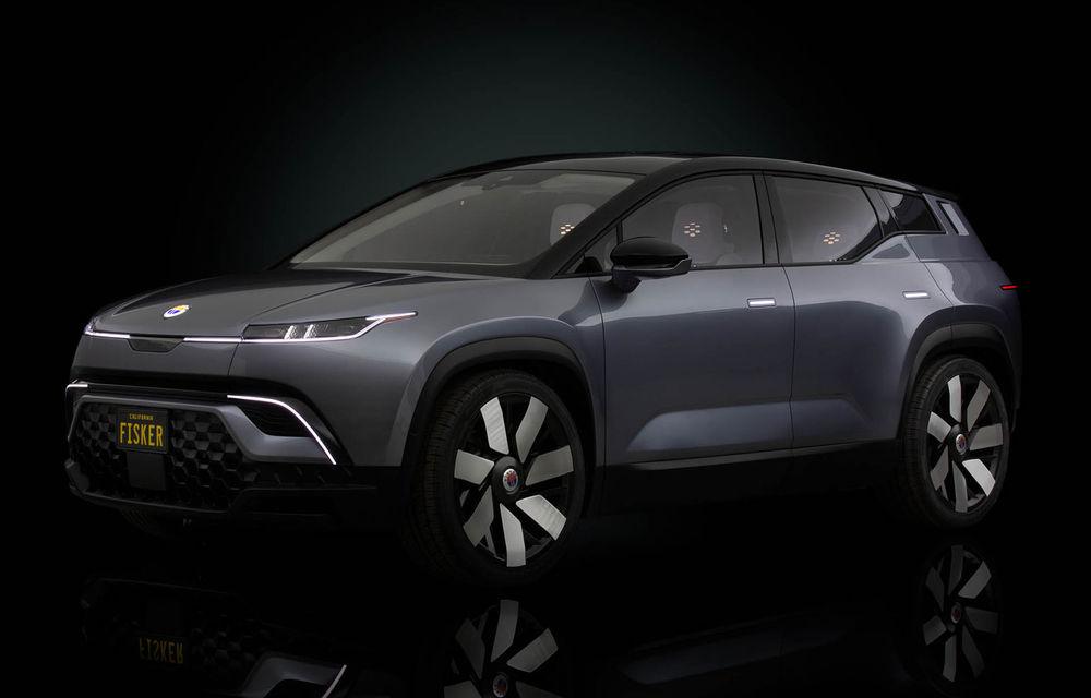 Fisker a înregistrat peste 7.000 de rezervări pentru SUV-ul electric Ocean: startul producției este programat pentru 2022 - Poza 1