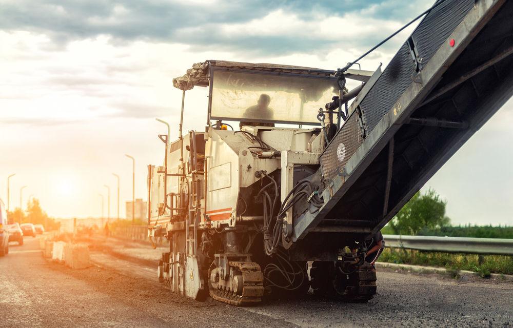 Imagini cu stadiul lucrărilor la drumul expres Craiova - Pitești: pe tronsonul doi construcția a ajuns la un grad de finalizare de 20% - Poza 1