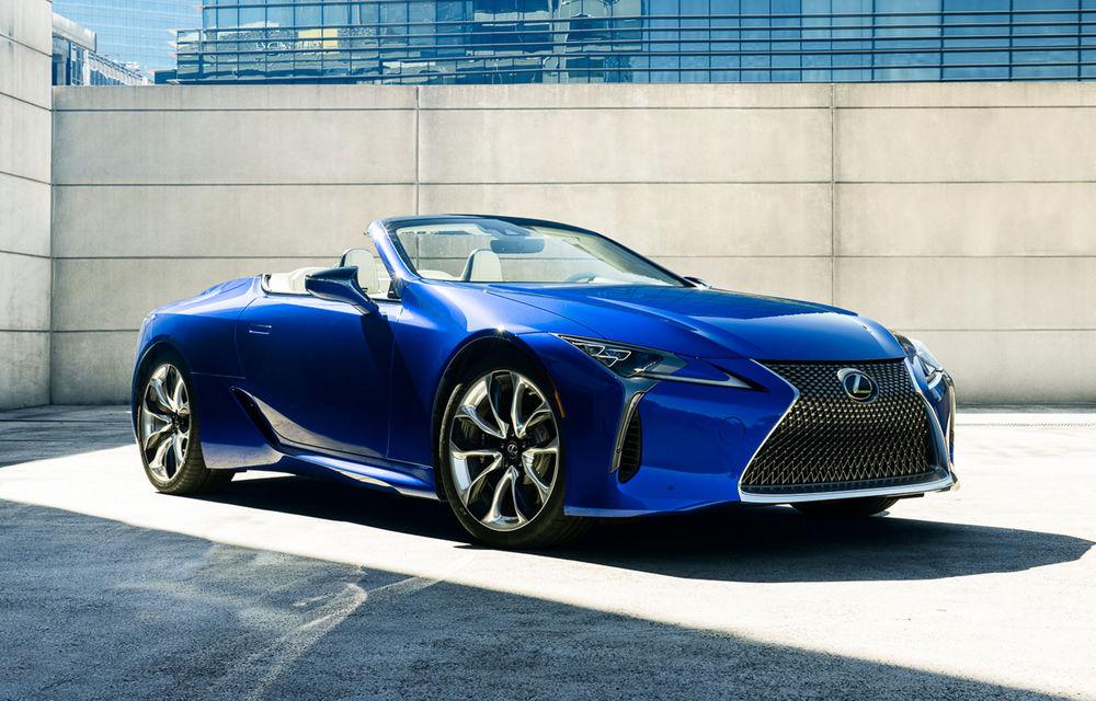 Lexus prezintă LC Convertible Regatta Edition: versiunea de lansare va fi produsă în doar câteva unități - Poza 1