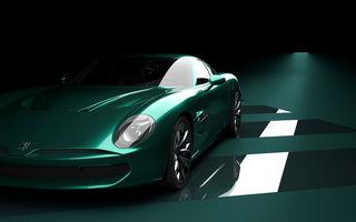 Primele imagini cu viitorul Zagato IsoRivolta GTZ: GT-ul echipat cu motor V8 va fi produs în 19 unități