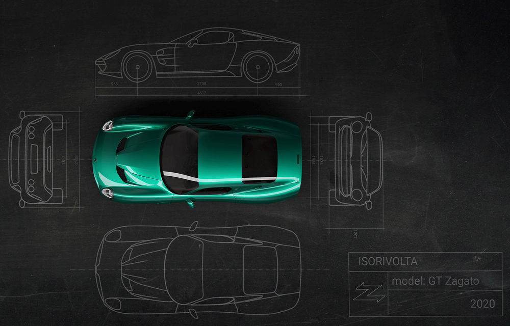Primele imagini cu viitorul Zagato IsoRivolta GTZ: GT-ul echipat cu motor V8 va fi produs în 19 unități - Poza 4