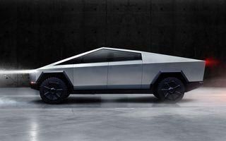 """Tesla ar putea lansa în Europa o versiune mai mică a pick-up-ului Cybertruck: """"Este foarte posibil"""""""