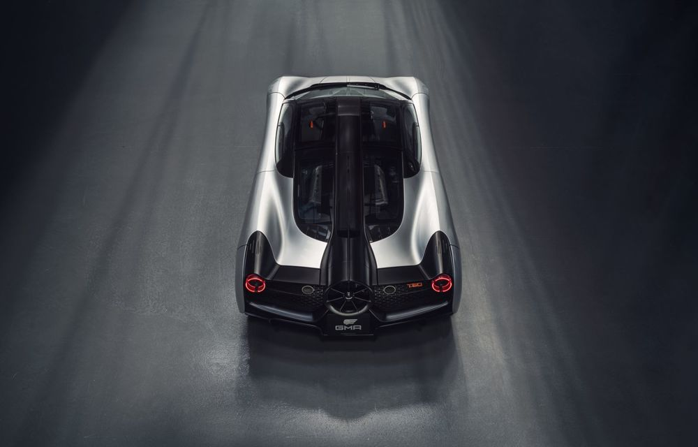 Gordon Murray a prezentat noul T.50, succesorul lui McLaren F1: supercar-ul cântărește mai puțin de o tonă și are un V12 aspirat natural cu 663 CP - Poza 17