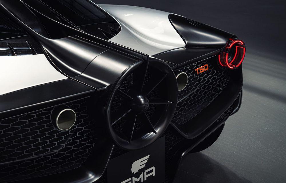 Gordon Murray a prezentat noul T.50, succesorul lui McLaren F1: supercar-ul cântărește mai puțin de o tonă și are un V12 aspirat natural cu 663 CP - Poza 18
