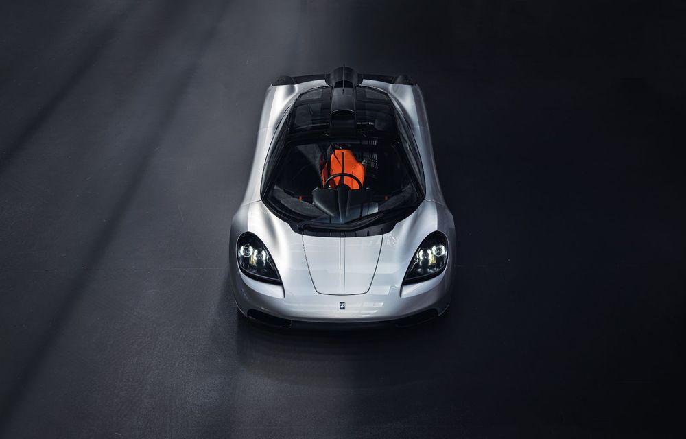 Gordon Murray a prezentat noul T.50, succesorul lui McLaren F1: supercar-ul cântărește mai puțin de o tonă și are un V12 aspirat natural cu 663 CP - Poza 7