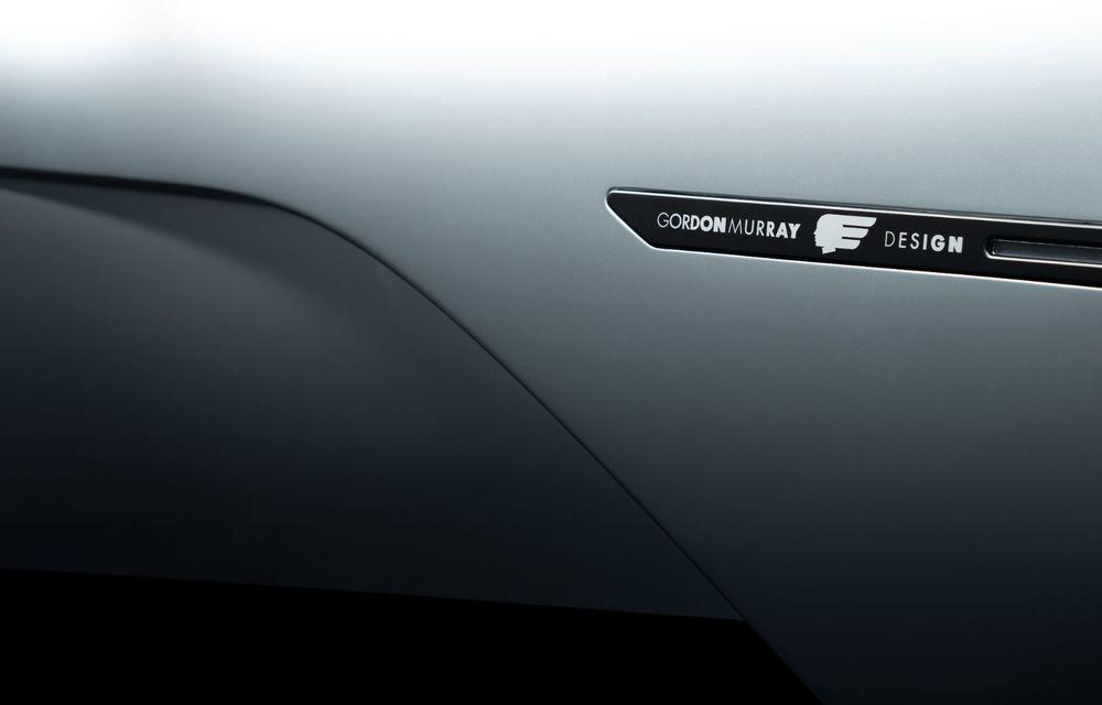 Gordon Murray a prezentat noul T.50, succesorul lui McLaren F1: supercar-ul cântărește mai puțin de o tonă și are un V12 aspirat natural cu 663 CP - Poza 24