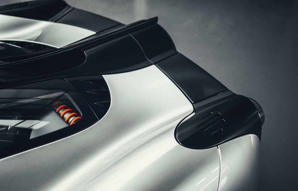 Gordon Murray a prezentat noul T.50, succesorul lui McLaren F1: supercar-ul cântărește mai puțin de o tonă și are un V12 aspirat natural cu 663 CP - Poza 21