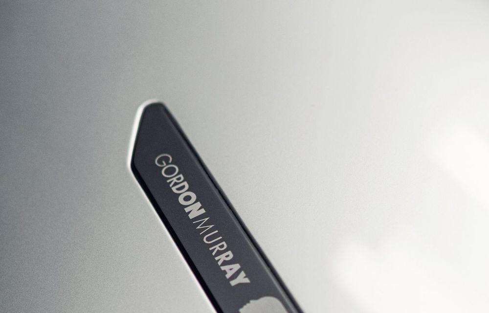 Gordon Murray a prezentat noul T.50, succesorul lui McLaren F1: supercar-ul cântărește mai puțin de o tonă și are un V12 aspirat natural cu 663 CP - Poza 25