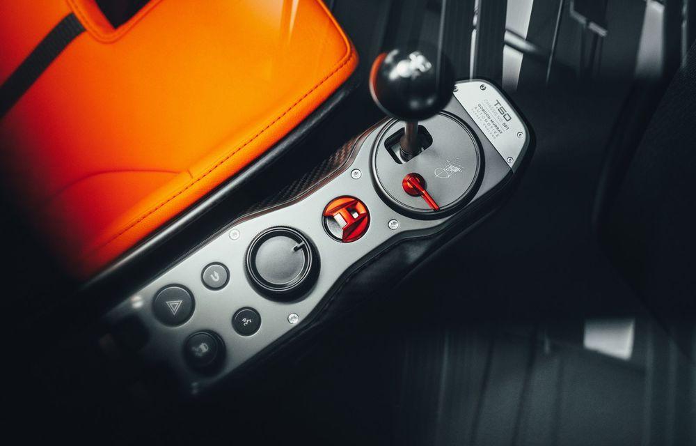 Gordon Murray a prezentat noul T.50, succesorul lui McLaren F1: supercar-ul cântărește mai puțin de o tonă și are un V12 aspirat natural cu 663 CP - Poza 35