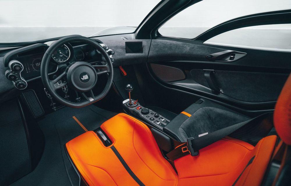 Gordon Murray a prezentat noul T.50, succesorul lui McLaren F1: supercar-ul cântărește mai puțin de o tonă și are un V12 aspirat natural cu 663 CP - Poza 30