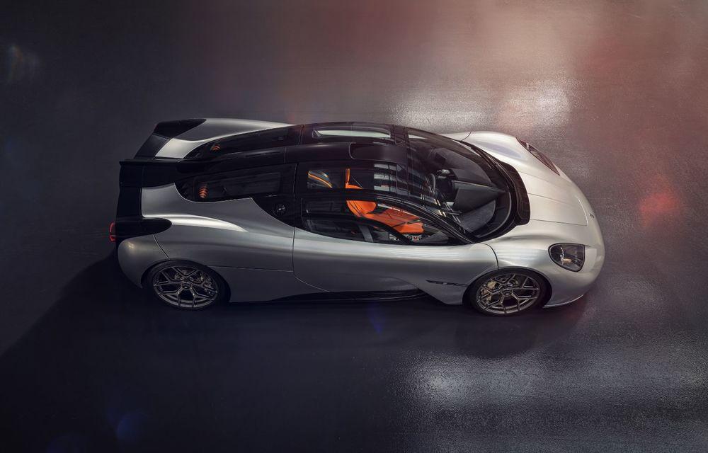Gordon Murray a prezentat noul T.50, succesorul lui McLaren F1: supercar-ul cântărește mai puțin de o tonă și are un V12 aspirat natural cu 663 CP - Poza 5
