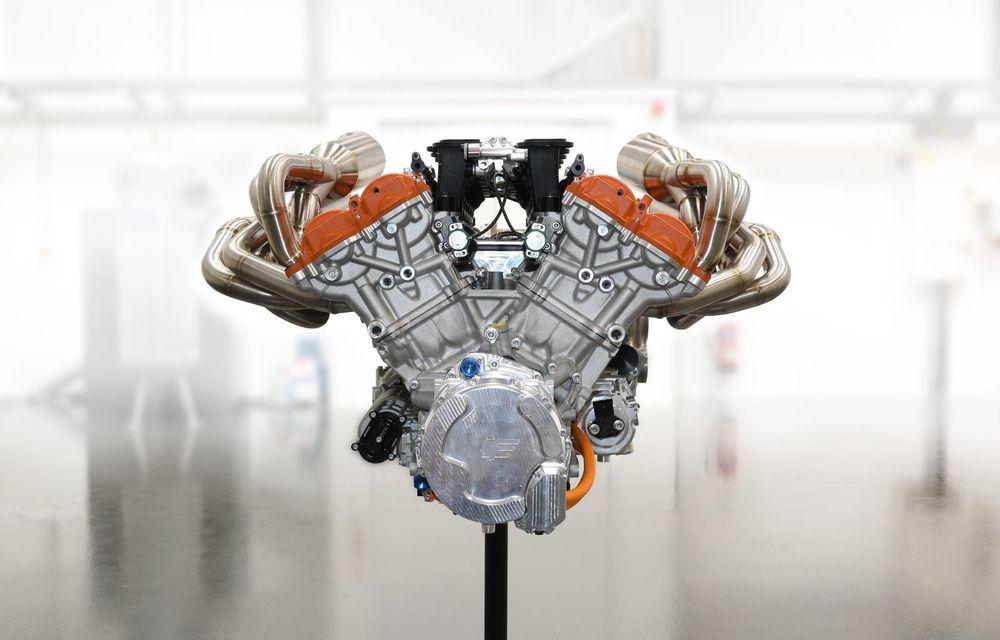 Gordon Murray a prezentat noul T.50, succesorul lui McLaren F1: supercar-ul cântărește mai puțin de o tonă și are un V12 aspirat natural cu 663 CP - Poza 44
