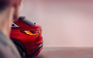 O nouă imagine teaser cu viitorul SUV coupe Infiniti QX55: rivalul lui BMW X4 va fi prezentat în 11 noiembrie