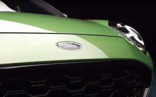 Încă un teaser pentru Ford Puma ST: versiunea de performanță va fi prezentată în 24 septembrie
