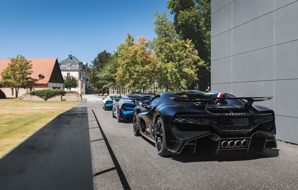 Bugatti a început livrările hypercar-ului Divo: producție limitată la 40 de unități și preț de 5 milioane de euro - Poza 13