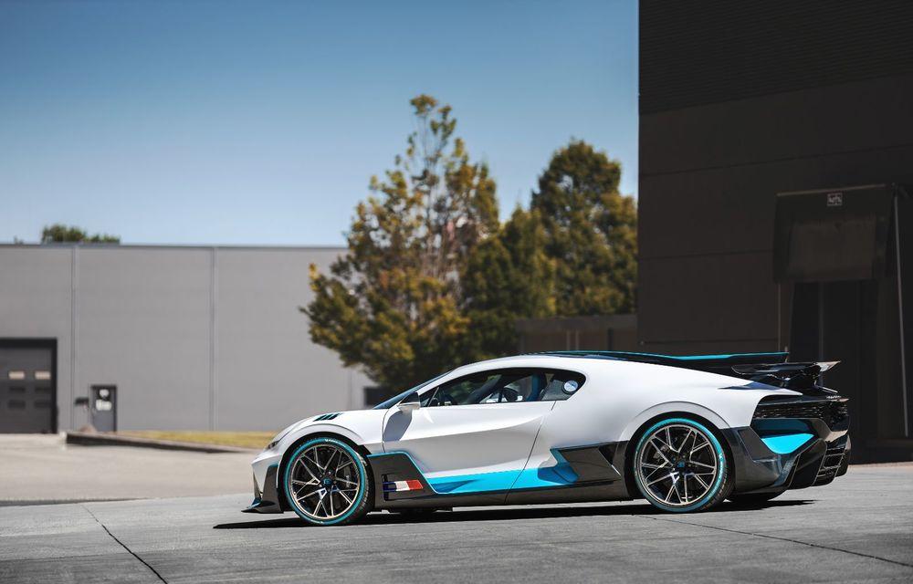 Bugatti a început livrările hypercar-ului Divo: producție limitată la 40 de unități și preț de 5 milioane de euro - Poza 22