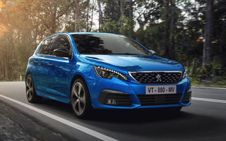Prețuri Peugeot 308 facelift în România: cea mai recentă versiune a modelului compact pornește de la aproape 18.300 de euro