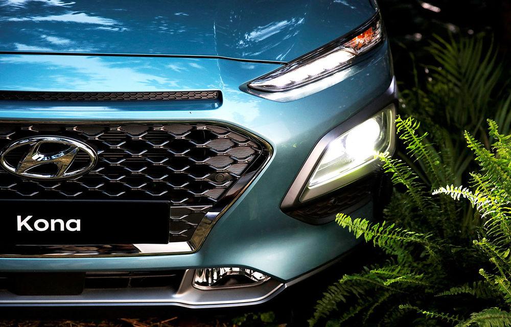 Video. Hyundai Kona N, spionat pe circuit: SUV-ul de performanță ar urma să ofere peste 200 CP - Poza 1