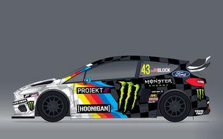 Ken Block va concura în prima cursă din seria Projekt E: americanul va lua startul la volanul unui Fiesta electric pregătit pentru rallycross