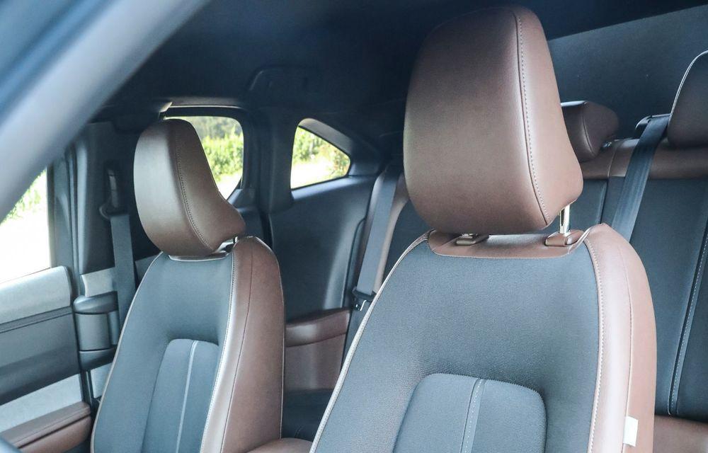 Întâlnire cu MX-30, prima electrică Mazda: autonomia de 200 de kilometri - între probleme de imagine, cifre oficiale și realități - Poza 82
