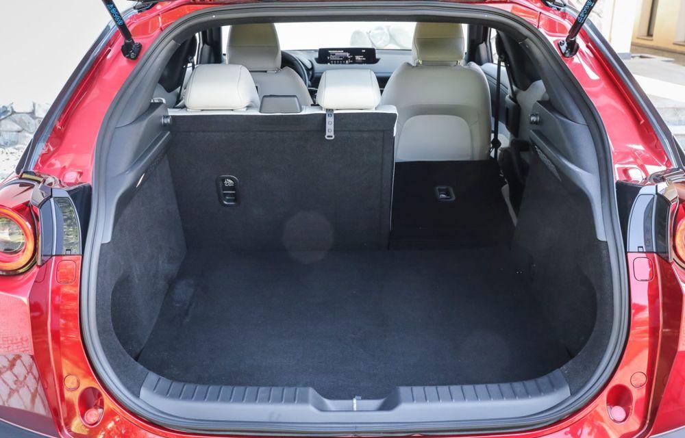 Întâlnire cu MX-30, prima electrică Mazda: autonomia de 200 de kilometri - între probleme de imagine, cifre oficiale și realități - Poza 66