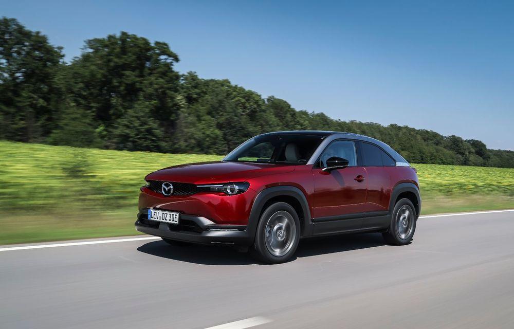 Întâlnire cu MX-30, prima electrică Mazda: autonomia de 200 de kilometri - între probleme de imagine, cifre oficiale și realități - Poza 47