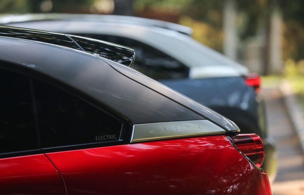 Întâlnire cu MX-30, prima electrică Mazda: autonomia de 200 de kilometri - între probleme de imagine, cifre oficiale și realități - Poza 6