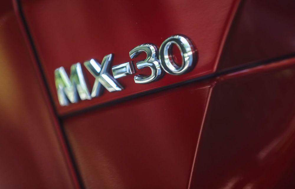 Întâlnire cu MX-30, prima electrică Mazda: autonomia de 200 de kilometri - între probleme de imagine, cifre oficiale și realități - Poza 44