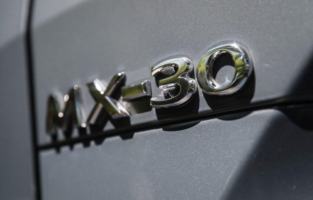 Întâlnire cu MX-30, prima electrică Mazda: autonomia de 200 de kilometri - între probleme de imagine, cifre oficiale și realități - Poza 25