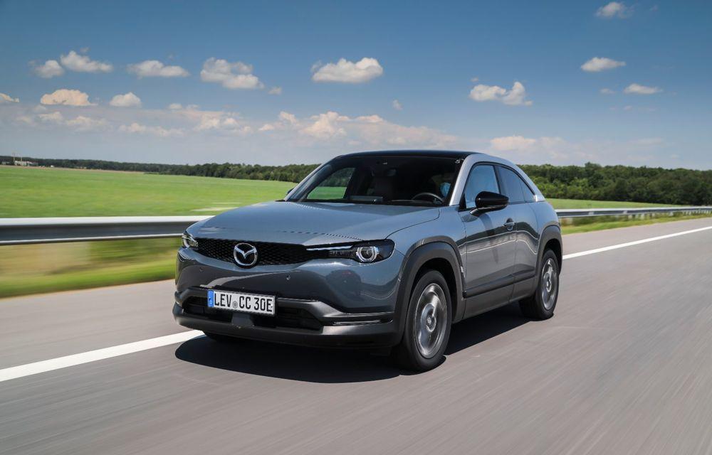 Întâlnire cu MX-30, prima electrică Mazda: autonomia de 200 de kilometri - între probleme de imagine, cifre oficiale și realități - Poza 38