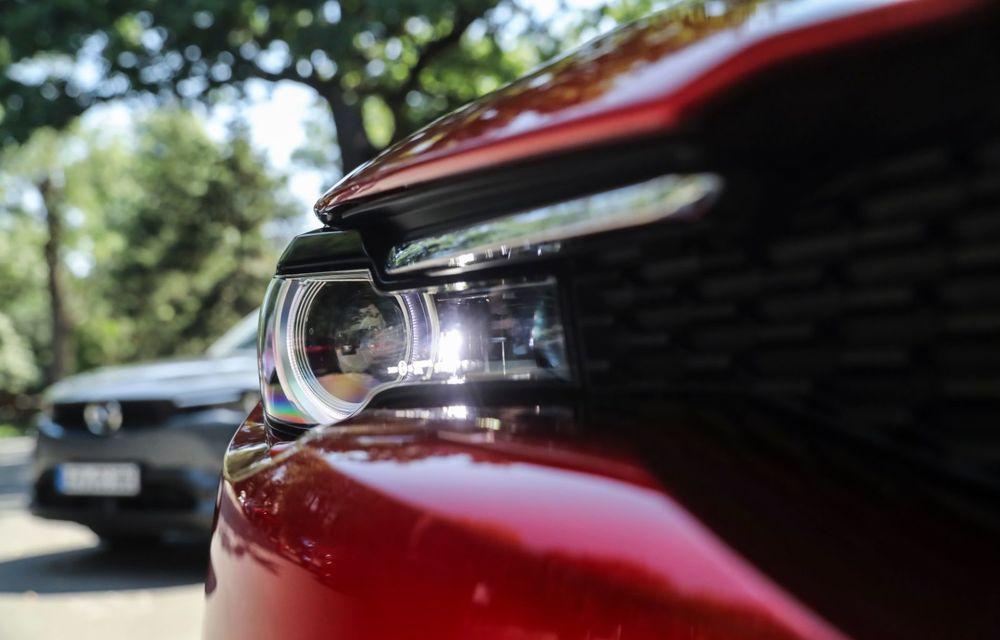 Întâlnire cu MX-30, prima electrică Mazda: autonomia de 200 de kilometri - între probleme de imagine, cifre oficiale și realități - Poza 27