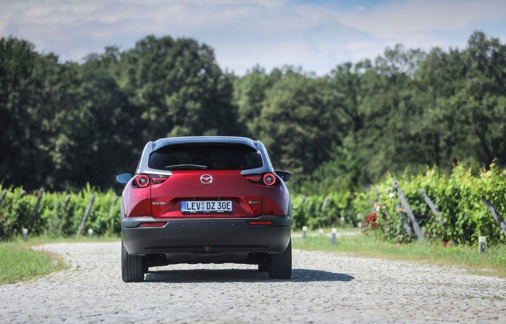 Întâlnire cu MX-30, prima electrică Mazda: autonomia de 200 de kilometri - între probleme de imagine, cifre oficiale și realități - Poza 50