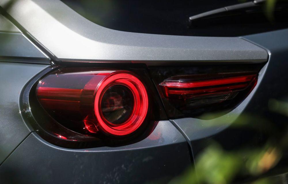 Întâlnire cu MX-30, prima electrică Mazda: autonomia de 200 de kilometri - între probleme de imagine, cifre oficiale și realități - Poza 46