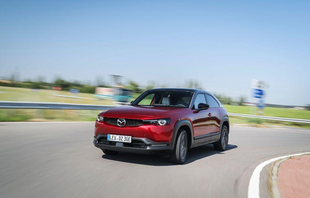 Întâlnire cu MX-30, prima electrică Mazda: autonomia de 200 de kilometri - între probleme de imagine, cifre oficiale și realități - Poza 19