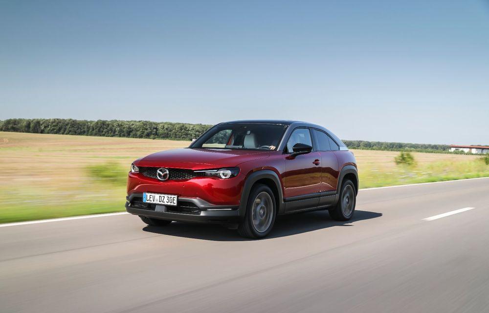 Întâlnire cu MX-30, prima electrică Mazda: autonomia de 200 de kilometri - între probleme de imagine, cifre oficiale și realități - Poza 16