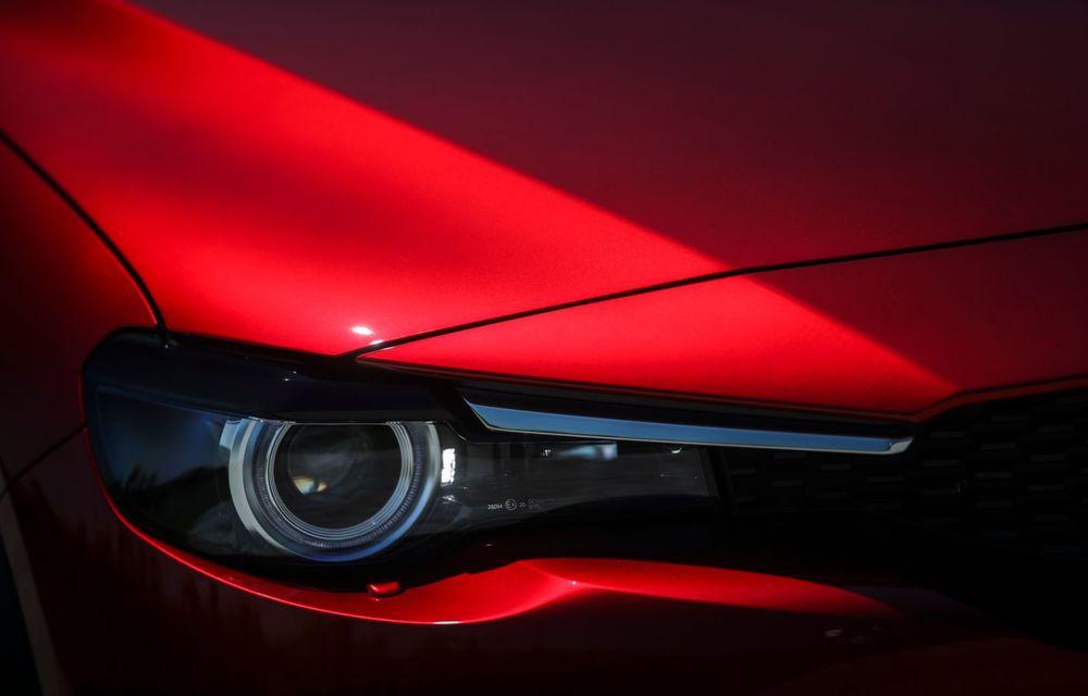 Întâlnire cu MX-30, prima electrică Mazda: autonomia de 200 de kilometri - între probleme de imagine, cifre oficiale și realități - Poza 30
