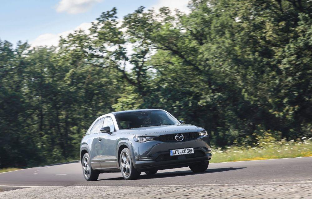 Întâlnire cu MX-30, prima electrică Mazda: autonomia de 200 de kilometri - între probleme de imagine, cifre oficiale și realități - Poza 54