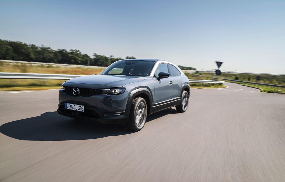 Întâlnire cu MX-30, prima electrică Mazda: autonomia de 200 de kilometri - între probleme de imagine, cifre oficiale și realități - Poza 10