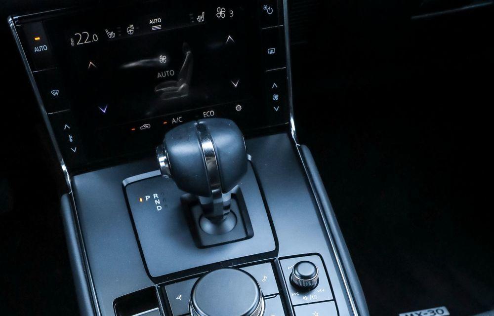 Întâlnire cu MX-30, prima electrică Mazda: autonomia de 200 de kilometri - între probleme de imagine, cifre oficiale și realități - Poza 78