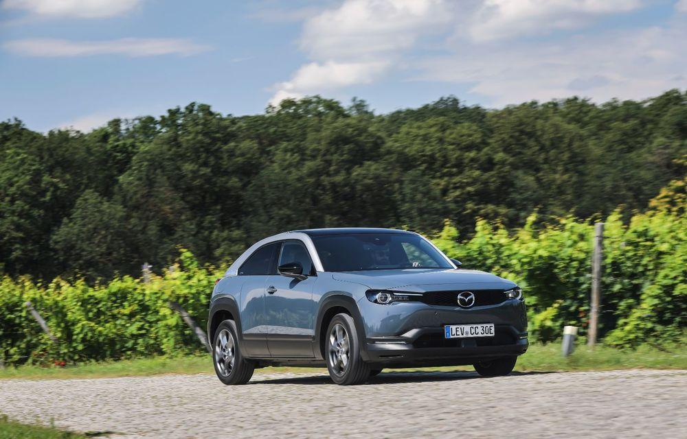 Întâlnire cu MX-30, prima electrică Mazda: autonomia de 200 de kilometri - între probleme de imagine, cifre oficiale și realități - Poza 51