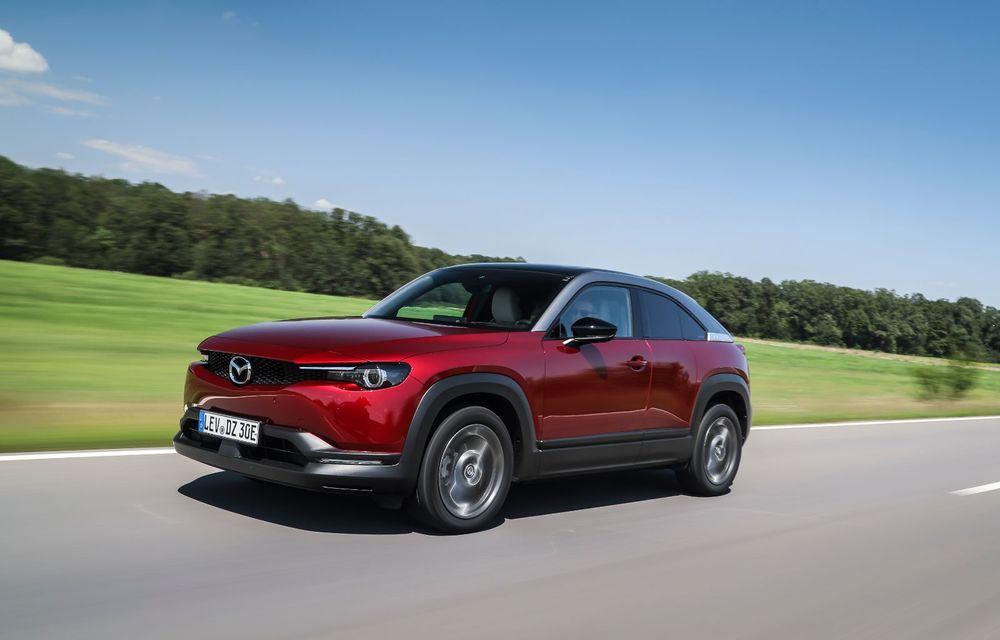 Întâlnire cu MX-30, prima electrică Mazda: autonomia de 200 de kilometri - între probleme de imagine, cifre oficiale și realități - Poza 48