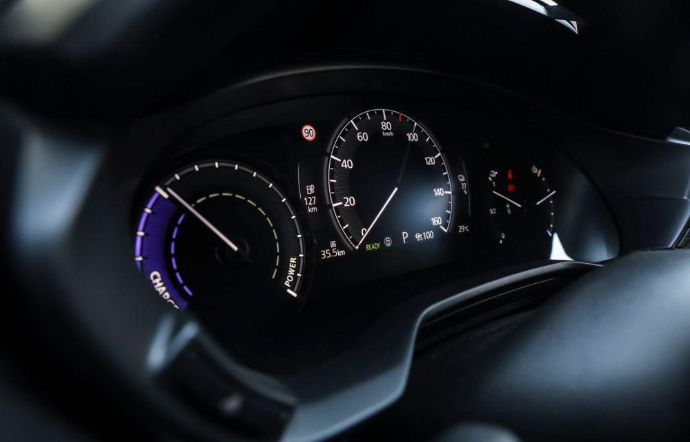 Întâlnire cu MX-30, prima electrică Mazda: autonomia de 200 de kilometri - între probleme de imagine, cifre oficiale și realități - Poza 69
