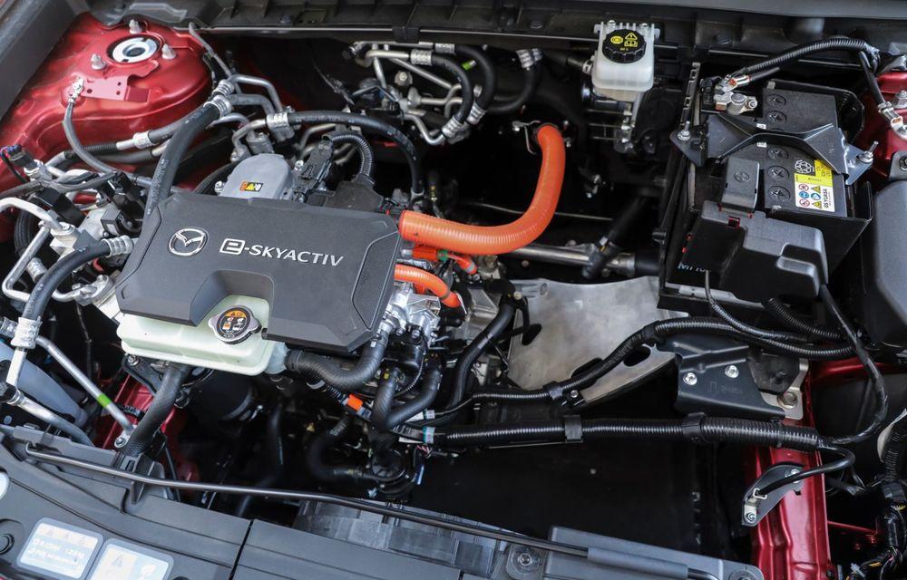 Întâlnire cu MX-30, prima electrică Mazda: autonomia de 200 de kilometri - între probleme de imagine, cifre oficiale și realități - Poza 64