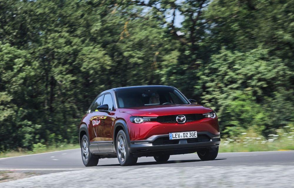 Întâlnire cu MX-30, prima electrică Mazda: autonomia de 200 de kilometri - între probleme de imagine, cifre oficiale și realități - Poza 28