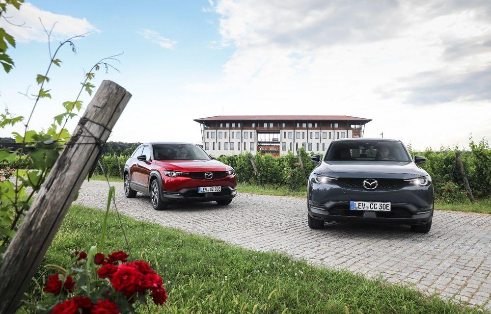 Întâlnire cu MX-30, prima electrică Mazda: autonomia de 200 de kilometri - între probleme de imagine, cifre oficiale și realități - Poza 58