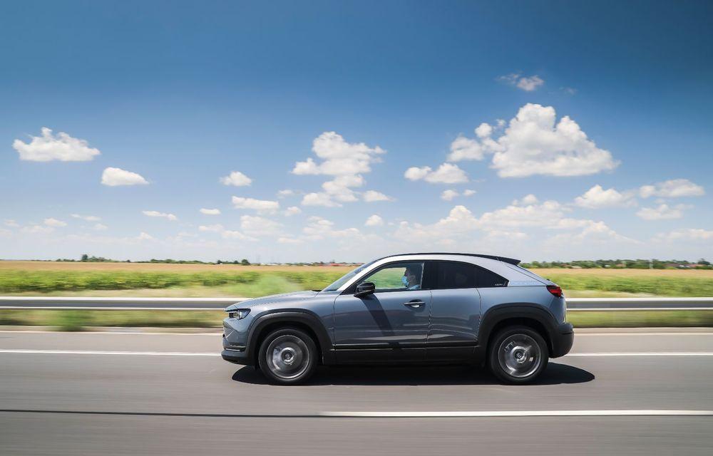Întâlnire cu MX-30, prima electrică Mazda: autonomia de 200 de kilometri - între probleme de imagine, cifre oficiale și realități - Poza 40