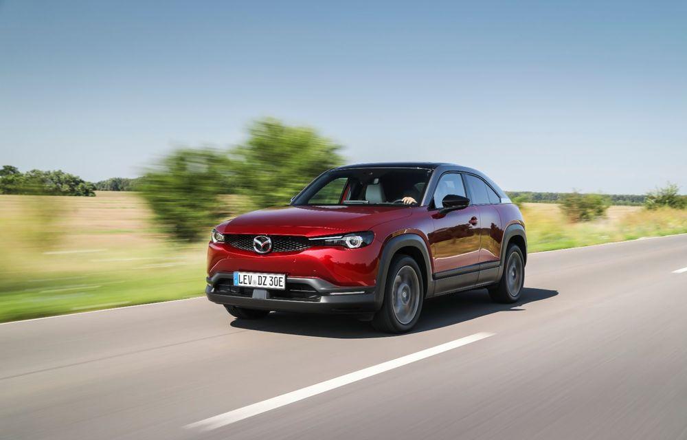 Întâlnire cu MX-30, prima electrică Mazda: autonomia de 200 de kilometri - între probleme de imagine, cifre oficiale și realități - Poza 17