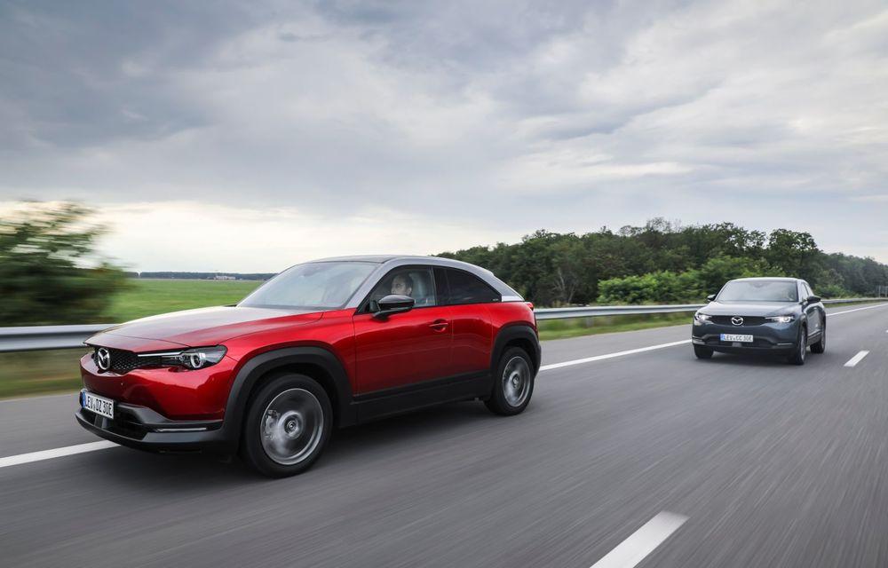 Întâlnire cu MX-30, prima electrică Mazda: autonomia de 200 de kilometri - între probleme de imagine, cifre oficiale și realități - Poza 59